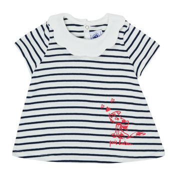 Υφασμάτινα Κορίτσι T-shirt με κοντά μανίκια Petit Bateau MELIANE Multicolour