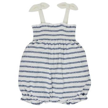Υφασμάτινα Κορίτσι Ολόσωμες φόρμες / σαλοπέτες Petit Bateau MILLY Multicolour