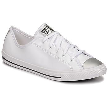 Παπούτσια Γυναίκα Χαμηλά Sneakers Converse CHUCK TAYLOR ALL STAR DAINTY ANODIZED METALS OX Άσπρο