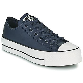 Παπούτσια Γυναίκα Χαμηλά Sneakers Converse CHUCK TAYLOR ALL STAR LIFT ANODIZED METALS OX Μπλέ