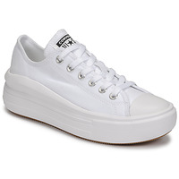 Παπούτσια Γυναίκα Χαμηλά Sneakers Converse CHUCK TAYLOR ALL STAR MOVE CANVAS COLOR OX Άσπρο