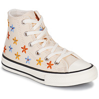 Παπούτσια Κορίτσι Ψηλά Sneakers Converse CHUCK TAYLOR ALL STAR SPRING FLOWERS HI Άσπρο
