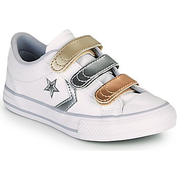 Xαμηλά Sneakers Converse STAR PLAYER 3V METALLIC LEATHER OX ΣΤΕΛΕΧΟΣ: Δέρμα & ΕΠΕΝΔΥΣΗ: Ύφασμα & ΕΣ. ΣΟΛΑ: Ύφασμα & ΕΞ. ΣΟΛΑ: Καουτσούκ