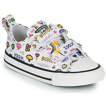 Παπούτσια Κορίτσι Χαμηλά Sneakers Converse CHUCK TAYLOR ALL STAR 2V GIRLS GAMER OX Άσπρο / Multicolore