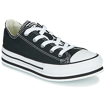 Παπούτσια Κορίτσι Χαμηλά Sneakers Converse CHUCK TAYLOR ALL STAR EVA LIFT EVERYDAY EASE OX Black