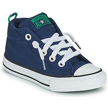Παπούτσια Παιδί Ψηλά Sneakers Converse CHUCK TAYLOR ALL STAR STREET CANVAS COLOR MID Μπλέ