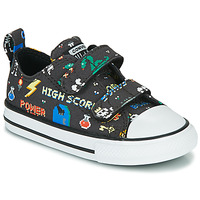 Παπούτσια Αγόρι Χαμηλά Sneakers Converse CHUCK TAYLOR ALL STAR 2V BOYS GAMER OX Black / Multicolore