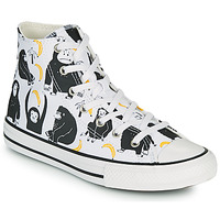 Παπούτσια Παιδί Ψηλά Sneakers Converse CHUCK TAYLOR ALL STAR GOING BANANAS HI Άσπρο / Multicolour