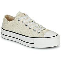 Παπούτσια Γυναίκα Χαμηλά Sneakers Converse CHUCK TAYLOR ALL STAR LIFT CANVAS BRODERIE OX Άσπρο