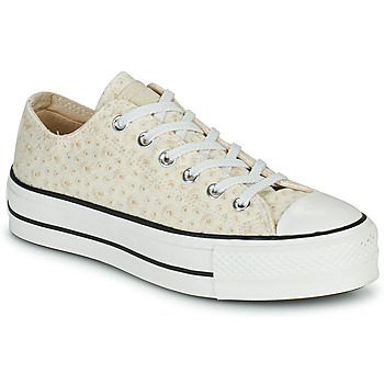 Xαμηλά Sneakers Converse CHUCK TAYLOR ALL STAR LIFT CANVAS BRODERIE OX ΣΤΕΛΕΧΟΣ: Φυσικό ύφασμα & ΕΠΕΝΔΥΣΗ: & ΕΣ. ΣΟΛΑ: & ΕΞ. ΣΟΛΑ: Καουτσούκ