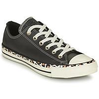 Παπούτσια Γυναίκα Χαμηλά Sneakers Converse CHUCK TAYLOR ALL STAR ARCHIVE DETAILS OX Black / Leopard