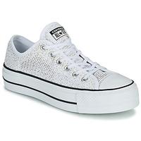 Παπούτσια Γυναίκα Χαμηλά Sneakers Converse CHUCK TAYLOR ALL STAR LIFT BREATHABLE OX Άσπρο