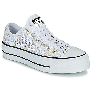 Xαμηλά Sneakers Converse CHUCK TAYLOR ALL STAR LIFT BREATHABLE OX ΣΤΕΛΕΧΟΣ: Φυσικό ύφασμα & ΕΠΕΝΔΥΣΗ: & ΕΣ. ΣΟΛΑ: & ΕΞ. ΣΟΛΑ: Καουτσούκ