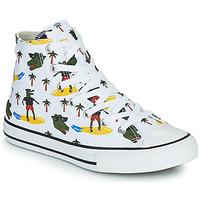 Παπούτσια Αγόρι Ψηλά Sneakers Converse CHUCK TAYLOR ALL STAR CROCO SURF HI Άσπρο / Green