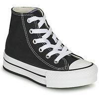 Παπούτσια Κορίτσι Ψηλά Sneakers Converse CHUCK TAYLOR ALL STAR EVA LIFT CANVAS COLOR HI Black