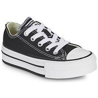 Παπούτσια Κορίτσι Χαμηλά Sneakers Converse CHUCK TAYLOR ALL STAR EVA PLATFORM FOUNDATION OX Black