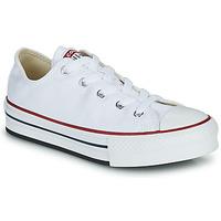 Παπούτσια Κορίτσι Χαμηλά Sneakers Converse CHUCK TAYLOR ALL STAR EVA PLATFORM FOUNDATION OX Άσπρο