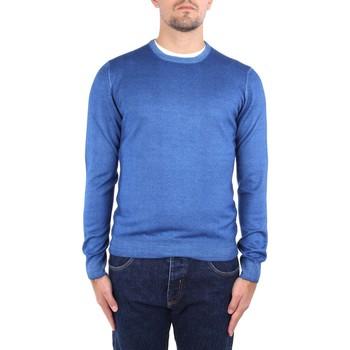 Υφασμάτινα Άνδρας Πουλόβερ La Fileria 22792 55167 Blue
