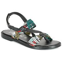 Παπούτσια Γυναίκα Σανδάλια / Πέδιλα Kaporal EVALOU Black / Multicolour