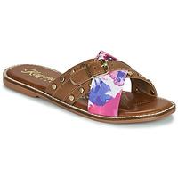 Παπούτσια Γυναίκα Τσόκαρα Kaporal EMILI Brown / Multicolour