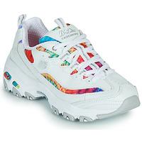 Παπούτσια Γυναίκα Χαμηλά Sneakers Skechers D'LITES SUMMER FIESTA Άσπρο / Multicolour