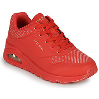 Παπούτσια Γυναίκα Χαμηλά Sneakers Skechers UNO STAND ON AIR Red