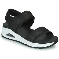 Παπούτσια Γυναίκα Σανδάλια / Πέδιλα Skechers UNO Black