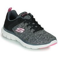 Παπούτσια Γυναίκα Fitness Skechers FLEX APPEAL 4.0 Grey / Ροζ
