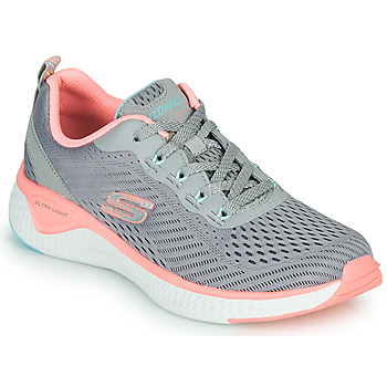 Παπούτσια Γυναίκα Fitness Skechers SOLAR FUSE COSMIC VIEW Grey / Ροζ