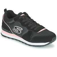 Παπούτσια Γυναίκα Χαμηλά Sneakers Skechers OG 85 Black / Ροζ