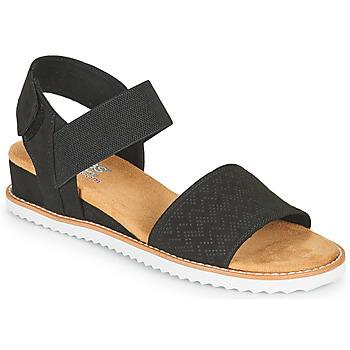 Παπούτσια Γυναίκα Σανδάλια / Πέδιλα Skechers DESERT KISS Black