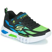Παπούτσια Αγόρι Χαμηλά Sneakers Skechers FLEX-GLOW Black / Μπλέ / Green