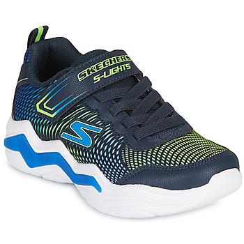 Παπούτσια Αγόρι Χαμηλά Sneakers Skechers ERUPTERS IV Marine / Green