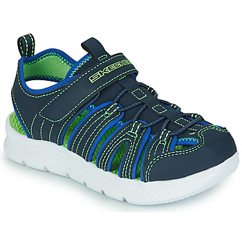 Παπούτσια Αγόρι Σπορ σανδάλια Skechers C-FLEX SANDAL 2.0 Marine / Green