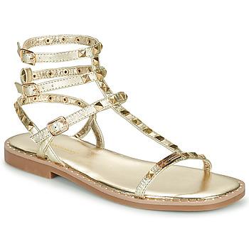 Παπούτσια Γυναίκα Σανδάλια / Πέδιλα Les Tropéziennes par M Belarbi CORALIE Gold