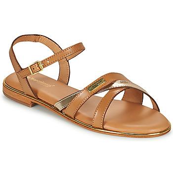 Παπούτσια Γυναίκα Σανδάλια / Πέδιλα Les Tropéziennes par M Belarbi HEXANE Brown / Gold