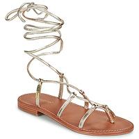 Παπούτσια Γυναίκα Σανδάλια / Πέδιλα Les Tropéziennes par M Belarbi HELLEN Gold