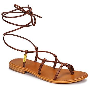 Παπούτσια Γυναίκα Σανδάλια / Πέδιλα Les Tropéziennes par M Belarbi HELLEN Brown