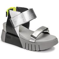 Παπούτσια Γυναίκα Σανδάλια / Πέδιλα United nude DELTA RUN Black / Silver