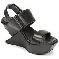 Παπούτσια Γυναίκα Σανδάλια / Πέδιλα United nude DELTA WEDGE Black