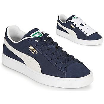 Παπούτσια Άνδρας Χαμηλά Sneakers Puma SUEDE Μπλέ