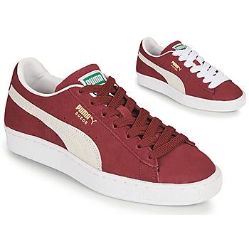 Παπούτσια Χαμηλά Sneakers Puma SUEDE Bordeaux
