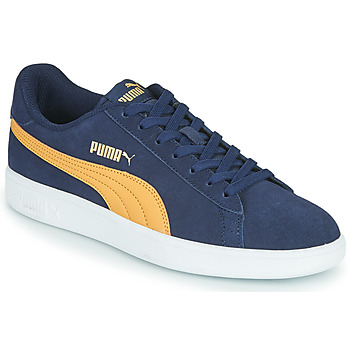 Παπούτσια Άνδρας Χαμηλά Sneakers Puma SMASH Μπλέ / Beige