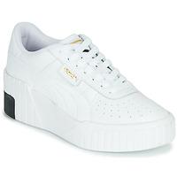 Παπούτσια Γυναίκα Χαμηλά Sneakers Puma CALI WEDGE Άσπρο / Black