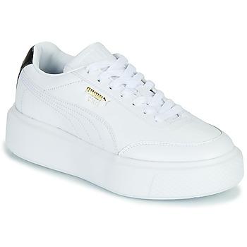 Παπούτσια Γυναίκα Χαμηλά Sneakers Puma CALI OSLO Άσπρο / Black