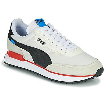 Παπούτσια Άνδρας Χαμηλά Sneakers Puma FUTURE RIDER PLAY ON Άσπρο / Black / Red