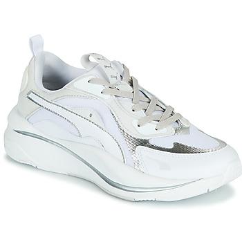 Παπούτσια Γυναίκα Χαμηλά Sneakers Puma RS CURVE GLOW Άσπρο