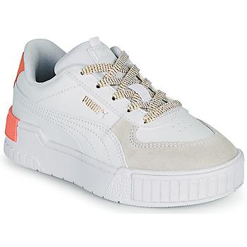 Παπούτσια Κορίτσι Χαμηλά Sneakers Puma CALI SPORT PS Άσπρο / Ροζ