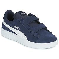Παπούτσια Παιδί Χαμηλά Sneakers Puma SMASH PS Μπλέ