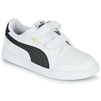 Παπούτσια Παιδί Χαμηλά Sneakers Puma SHUFFLE PS Άσπρο / Black